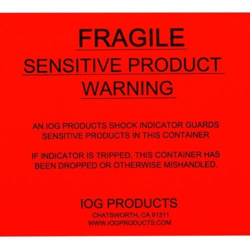 Fragile Label image