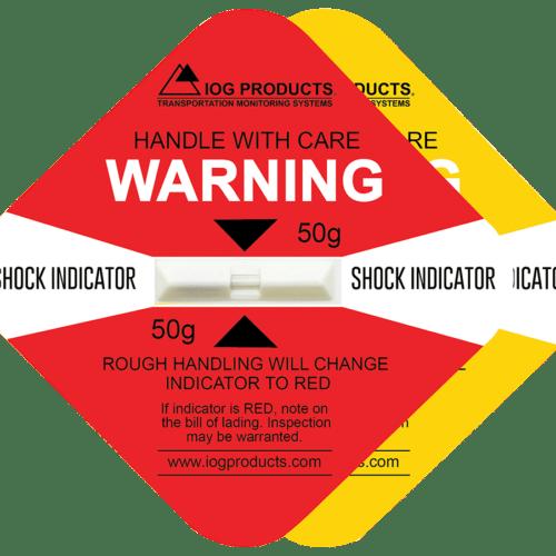 Shock indicator labels