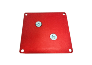mounting plate red