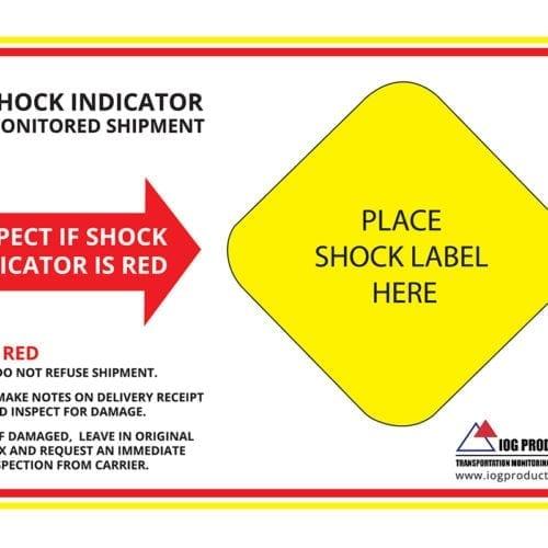 Shock companion label