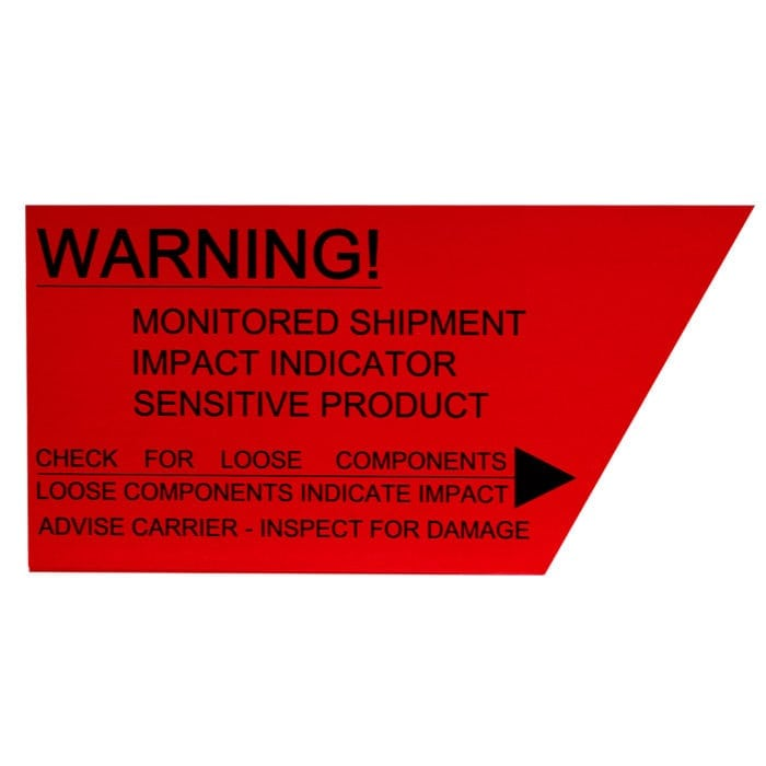 Trans-Monitor Warning Label