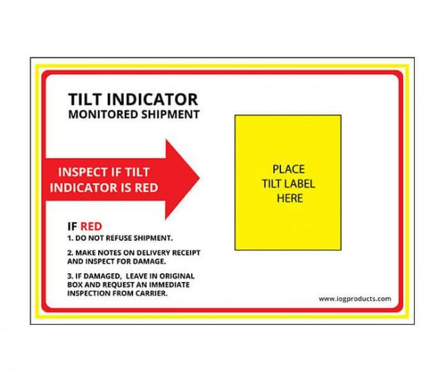 Tilt Companion Label