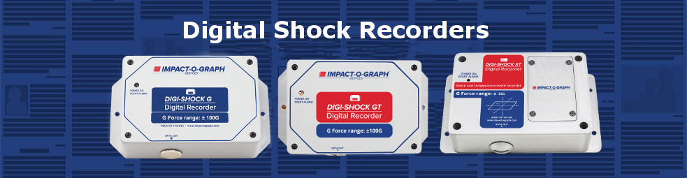 Digital impact recorder