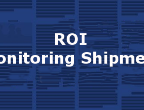 Monitoring Shipments – ROI