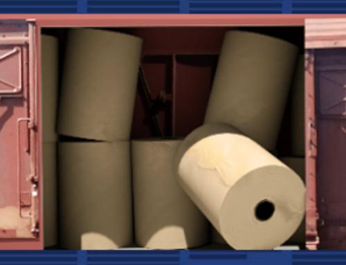 Paperboard Roll Damage